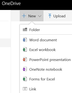 Create a Document in OneDrive