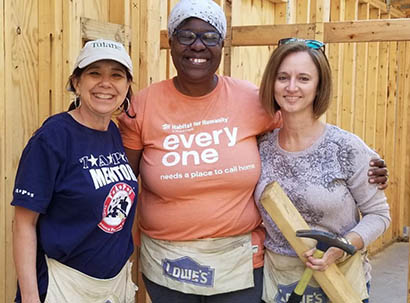 WiHE at Habitat for Humanity