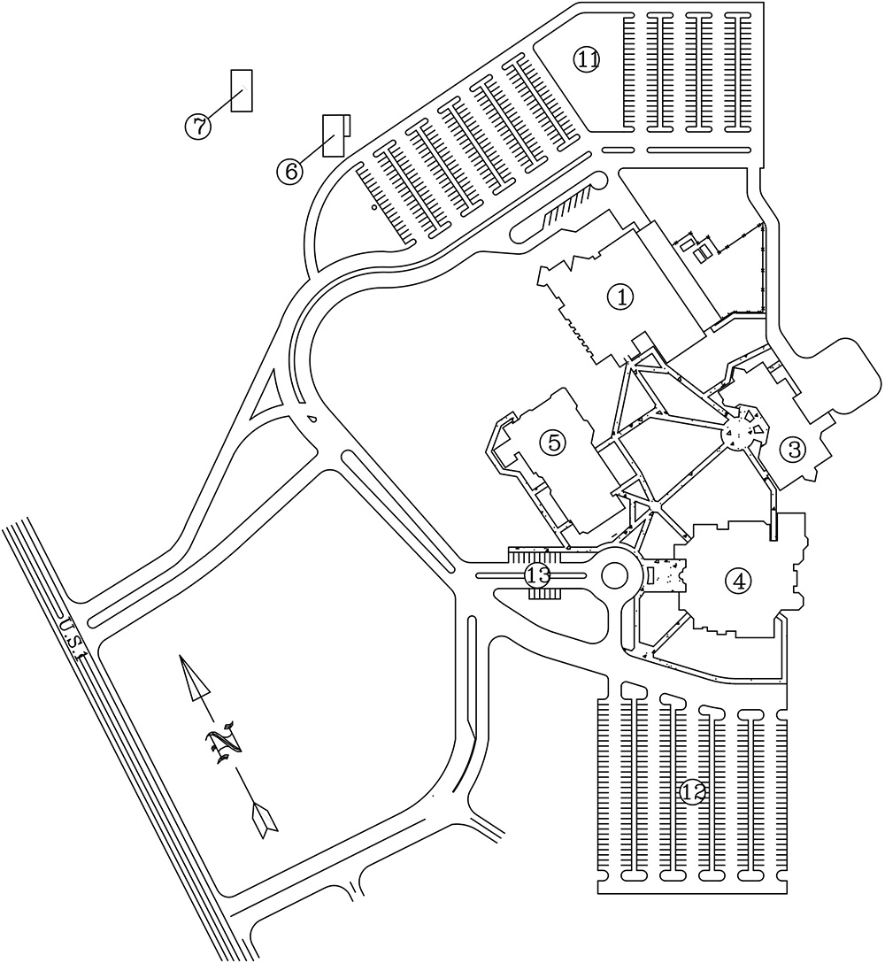 Titusville Campus Map